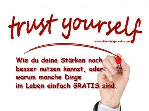 Trust youself